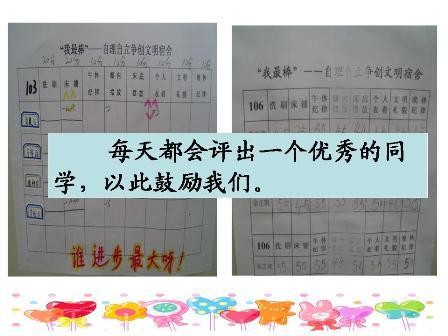 各级部根据学校德育工作计划